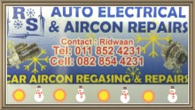 RS Auto Electrical and Aircon. logo
