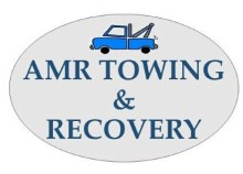 AMR towing and car transporters logo
