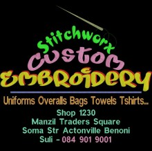 StitchWorx Custom Embroidery  logo