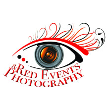 Red events & photography logo